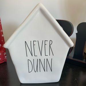 Piggy bank! Rae Dunn NEVER DUNN, perfect gift idea!!